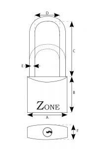 Marine Standard & Long Shackle Dimensions